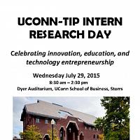 UConn-TIP Intern Research Day