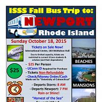 ISSS Fall Bus Trip to Newport, RI