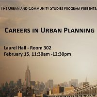 Careers in Urban Planning Panel
