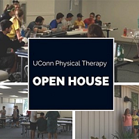 UConn Physical Therapy Open House