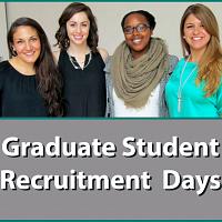 HDFS Grad Student Recruitment Weekend