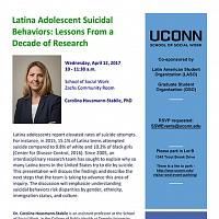 Latina Adolescent Suicidal Behaviors