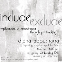 include exclude: Art Exhibition Opening Reception