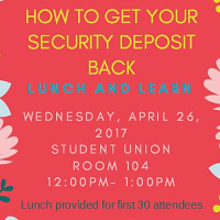 Lunch and Learn: How to Get Your Security Deposit Back