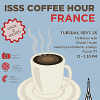 ISSS Coffee Hour: FRANCE