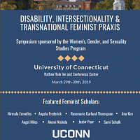 Symposium: Disability, Intersectionality and Transnational Feminist Praxis