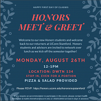 Honors Meet & Greet UConn Stamford