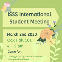 ISSS International Student Meeting