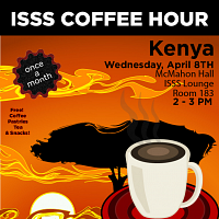 CANCELLED: ISSS Coffee Hour: Kenya