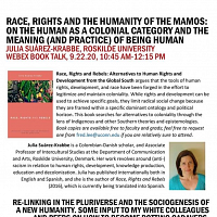 Race, Rights And The Humanity Of The Mamos: On The Human As A Colonial Category And The Meaning (And Practice) Of Being Human